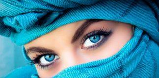 Cambiar color ojos marrones a azules