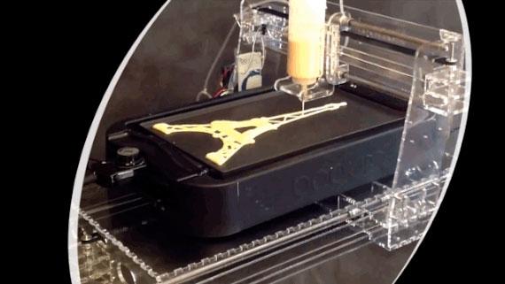 PancakeBot: La primera impresora de Tortitas para hacerte el desayuno!
