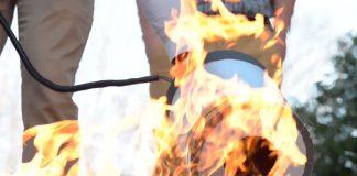 Subwoofer para apagar incendios