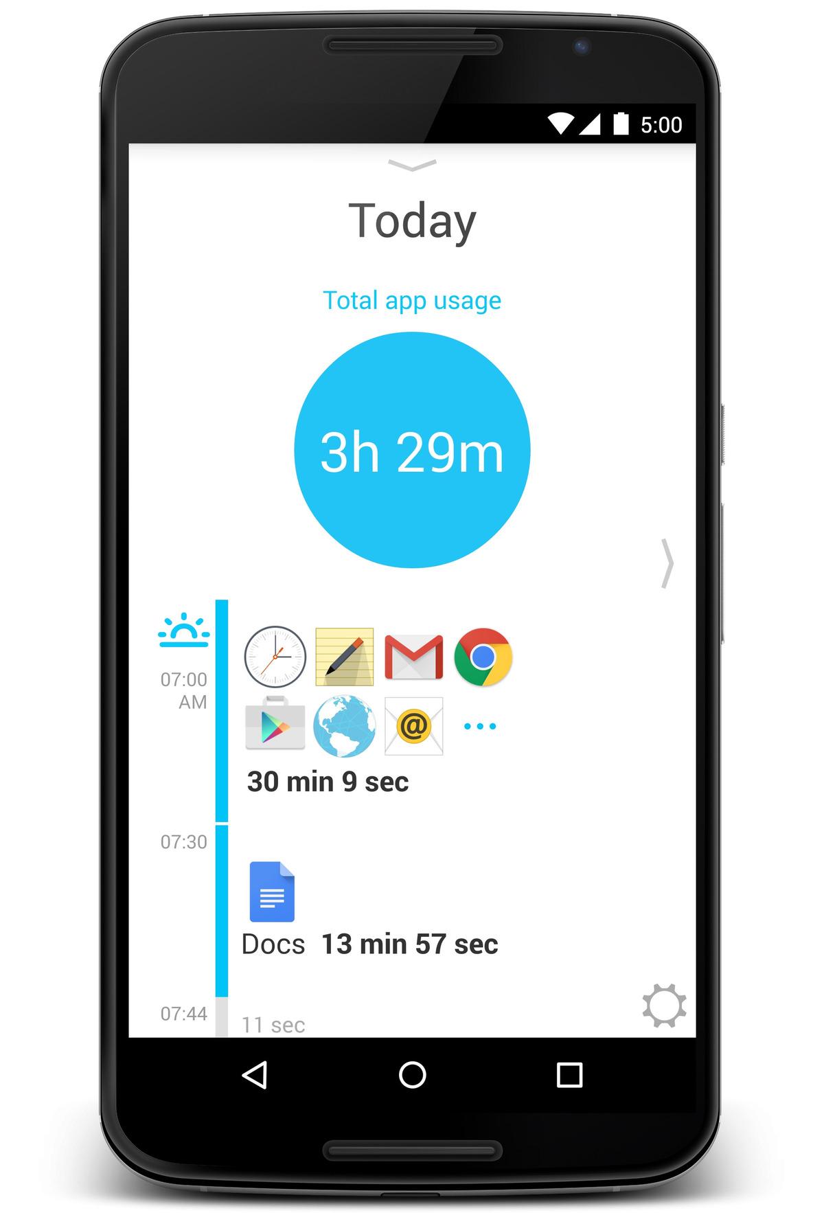 cuanto tiempo usas tu telefono movil