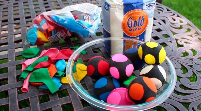 Construye tus bolas de malabares