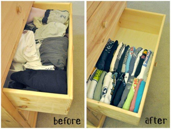¡15 increíbles trucos para ordenar el armario y cajones de tu casa de manera perfecta!