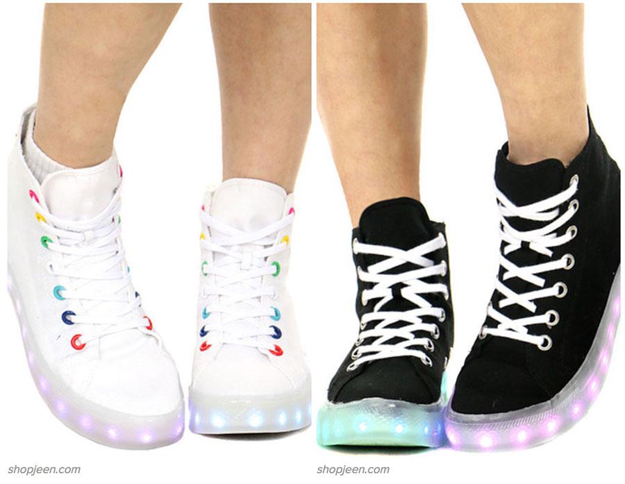 Zapatillas luminosas
