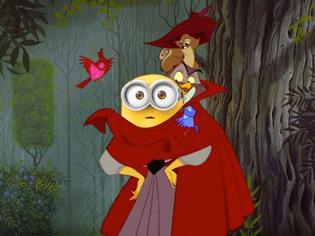 Si los personajes de Disney fuesen sustituidos por Minions
