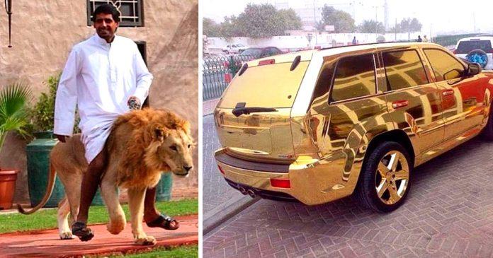 millonarios ricos extravagantes dubai banner
