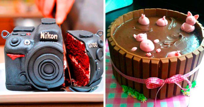 pasteles y tartas increible disenio y creatividad deliciosos banner