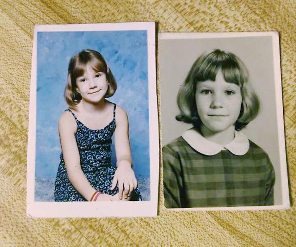 22 Fotos de Padres e Hijos con la misma edad