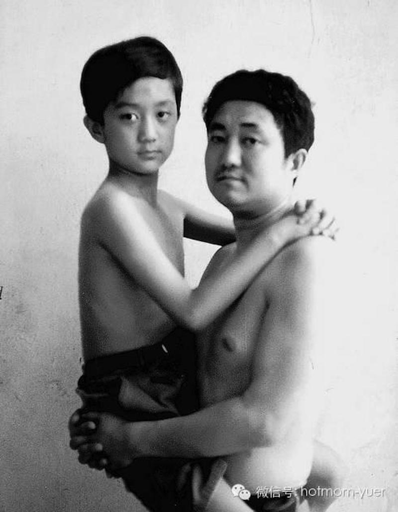 Padre e hijo hacen la misma foto durante 27 años10