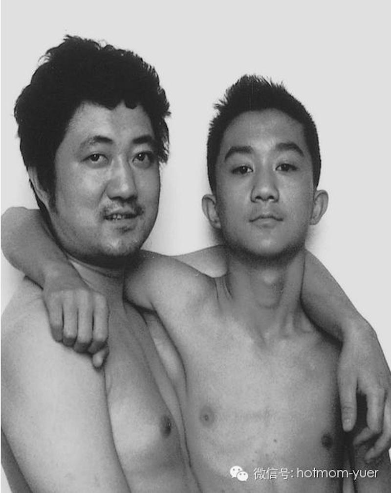 Padre e hijo hacen la misma foto durante 27 años14