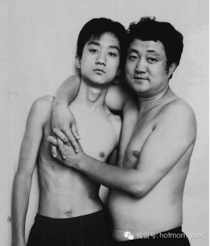 Padre e hijo hacen la misma foto durante 27 años15