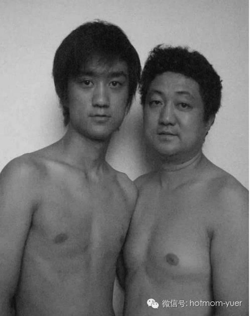 Padre e hijo hacen la misma foto durante 27 años18