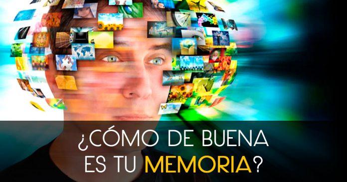 Test quiz personalidad Como de buena es tu memoria