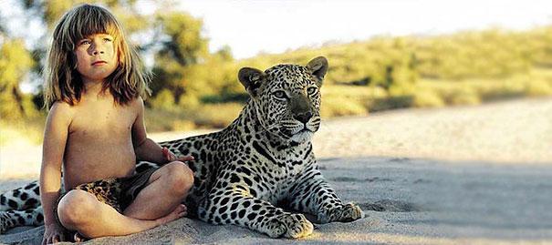 Tippi Degre chica selva africana mowgli vida rea 3l