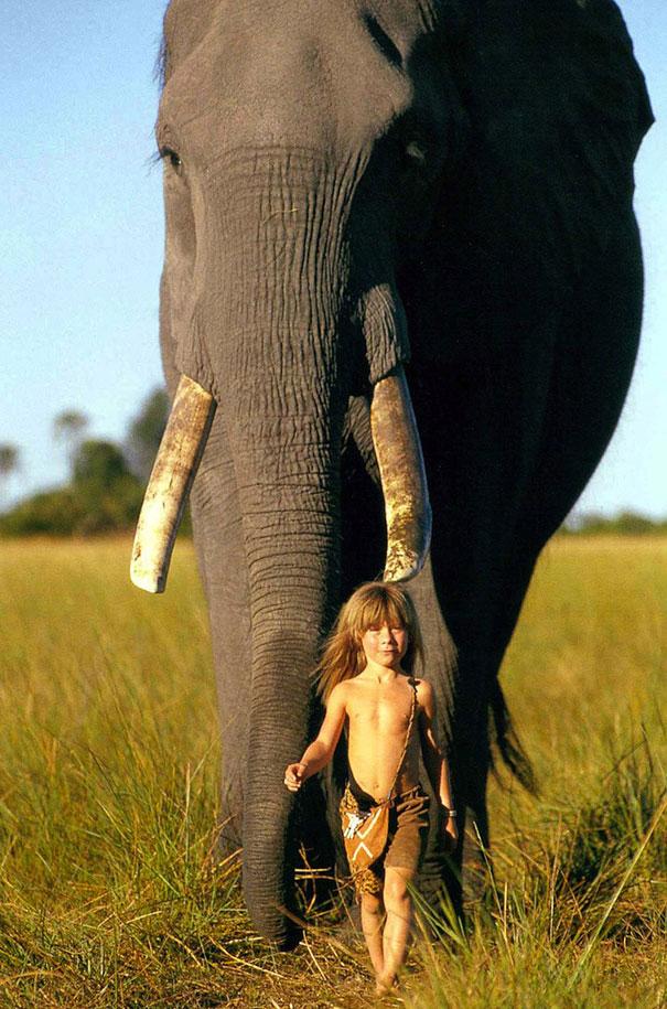 Tippi Degre chica selva africana mowgli vida rea 4