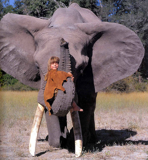Tippi Degre chica selva africana mowgli vida rea 5