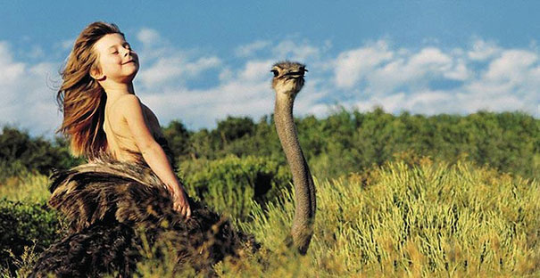 Tippi Degre chica selva africana mowgli vida real 6