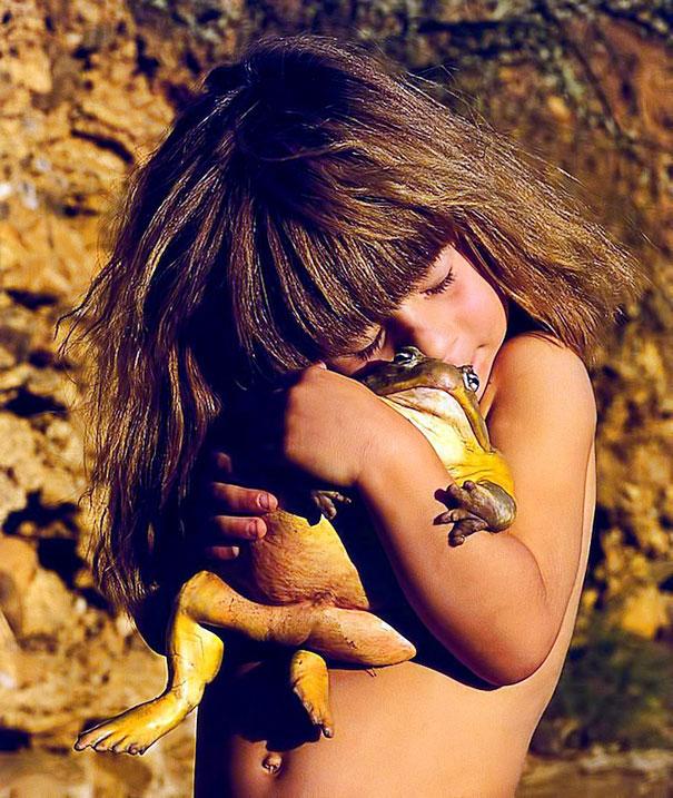 Tippi Degre chica selva africana mowgli vida real