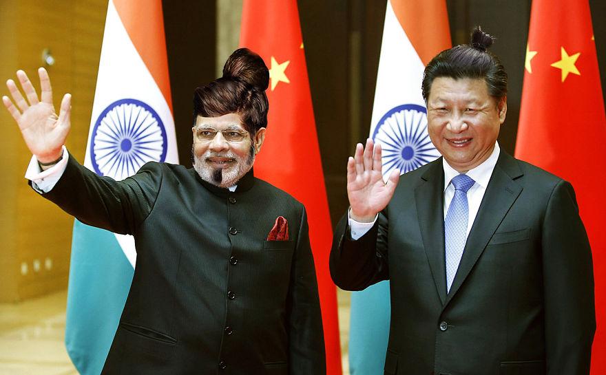 ¡Los líderes Mundiales con coleta!