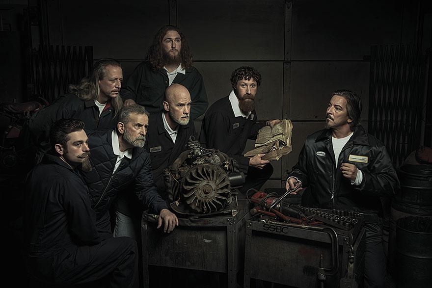 Estos divertidos Mecánicos recrean las Obras más famosas del Renacimiento