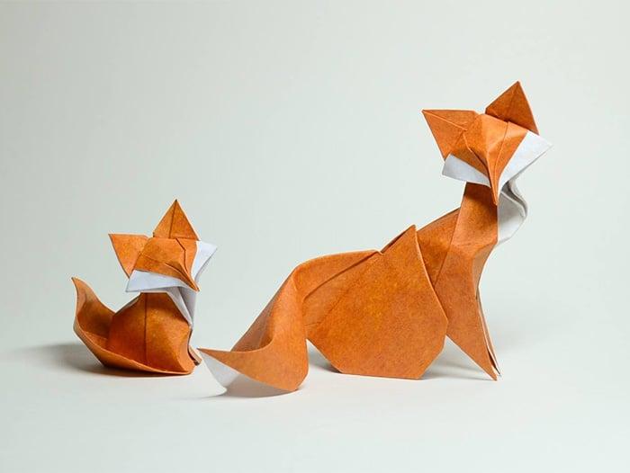 15 Increibles creaciones para celebrar el dia del Origami 02