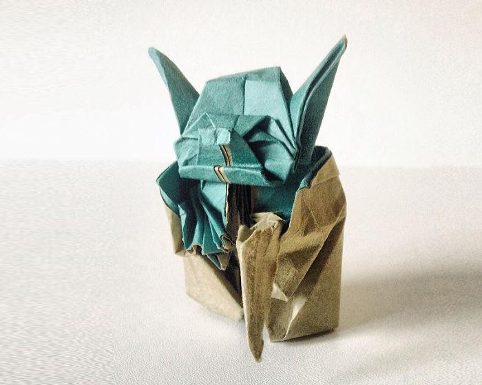 15 Increibles creaciones para celebrar el dia del Origami 03