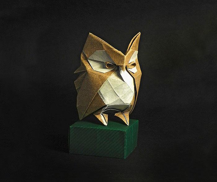 15 Increibles creaciones para celebrar el dia del Origami 08