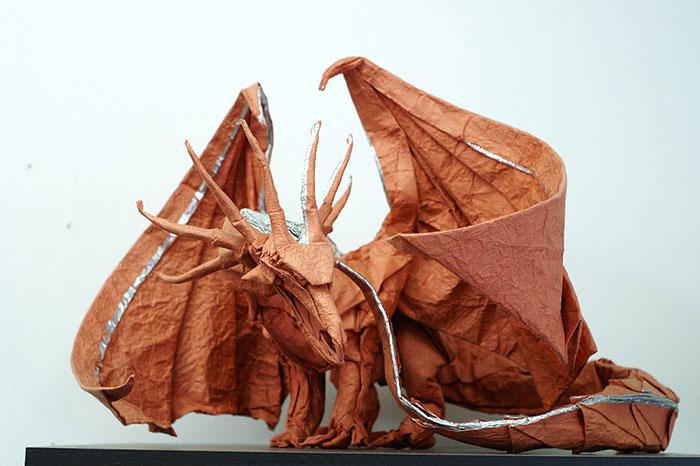 15 Increibles creaciones para celebrar el dia del Origami 09