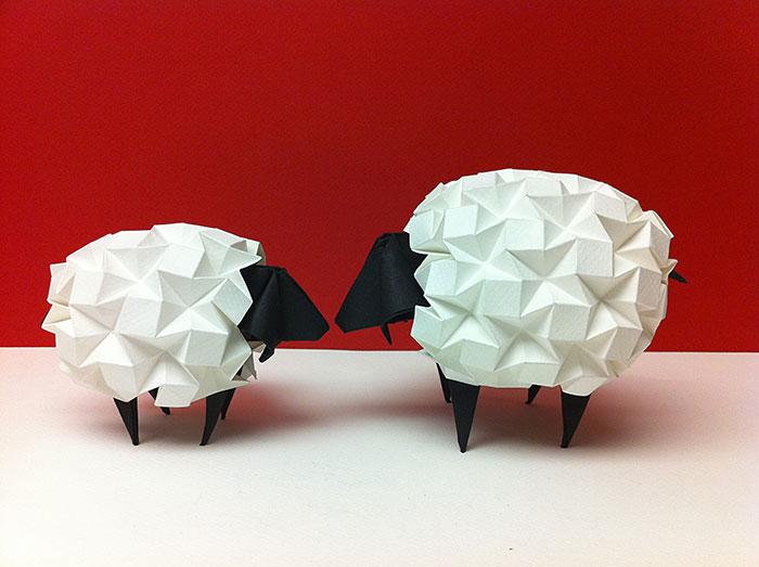 15 Increibles creaciones para celebrar el dia del Origami 12