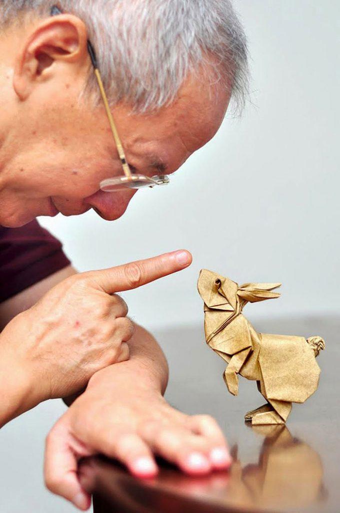 15 Increibles creaciones para celebrar el dia del Origami 15