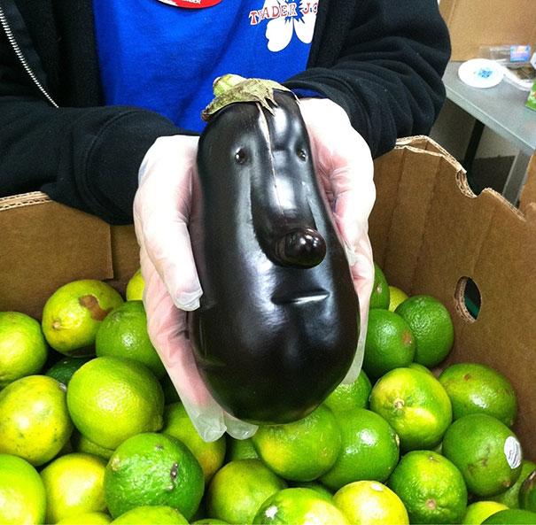 20 Frutas y Verduras con las Formas más divertidas que hayas visto Nunca