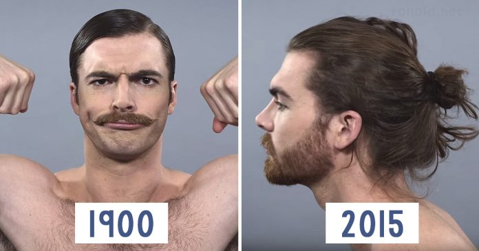 Como han cambiado los hombres en los ultimos 100 anos banner