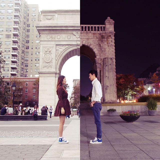 Esta pareja supera su relacion a distancia de forma creativa 01