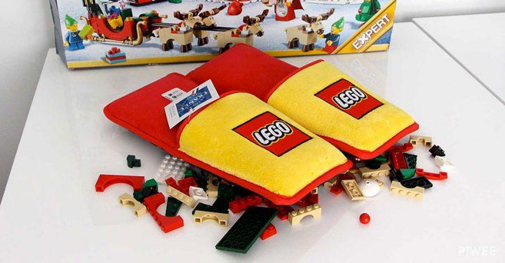 LEGO crea unas zapatillas Anti-LEGO para acabar con 66 Años de Horrible Sufrimiento