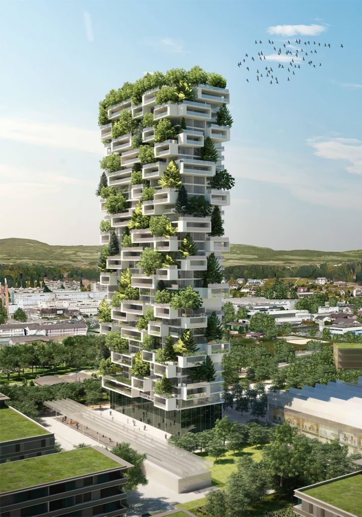 Este Increíble Rascacielos verde será el primer Bosque de Árboles Vertical del Mundo