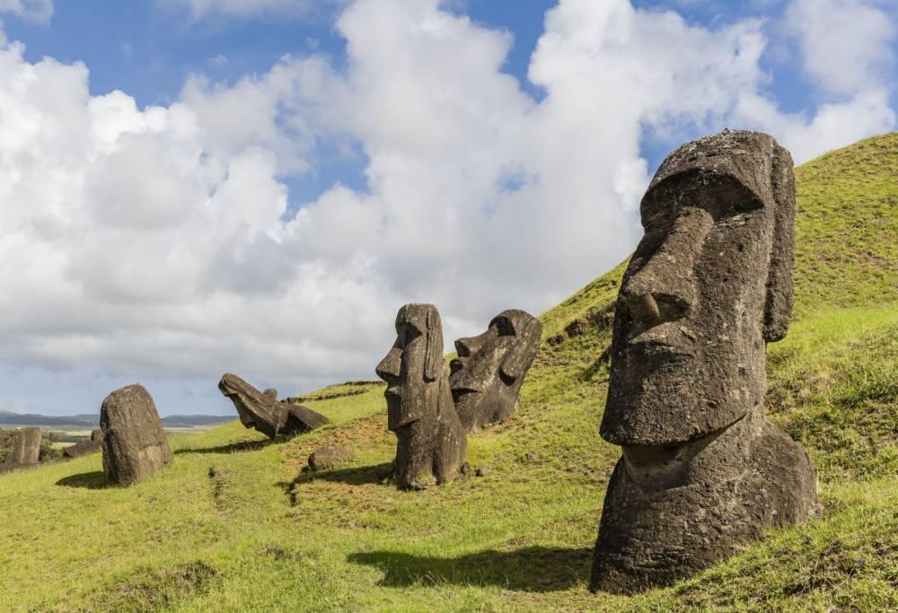 Se ha revelado el Secreto de las Gigantescas Cabezas de la Isla de Pascua