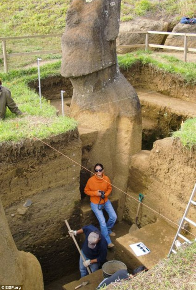Sorprendente descubrimiento cientifico cabezas isla pascua 07