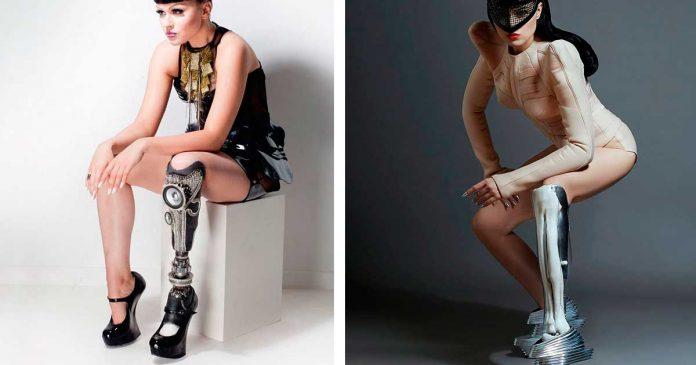 Tuvo el valor de mostrar su protesis en un video musical y ha revolucionado el mundo