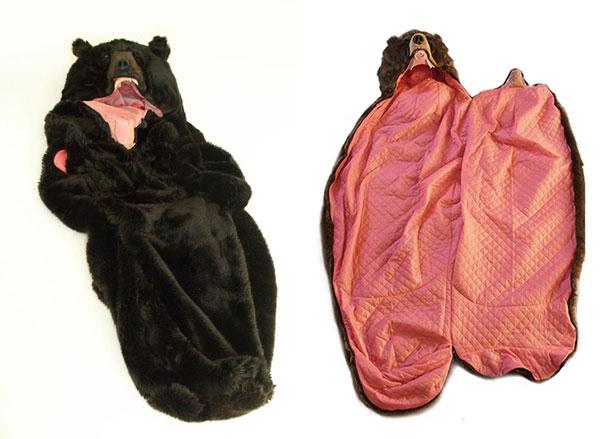 Con este saco de dormir de Oso nunca volverán a Molestarte