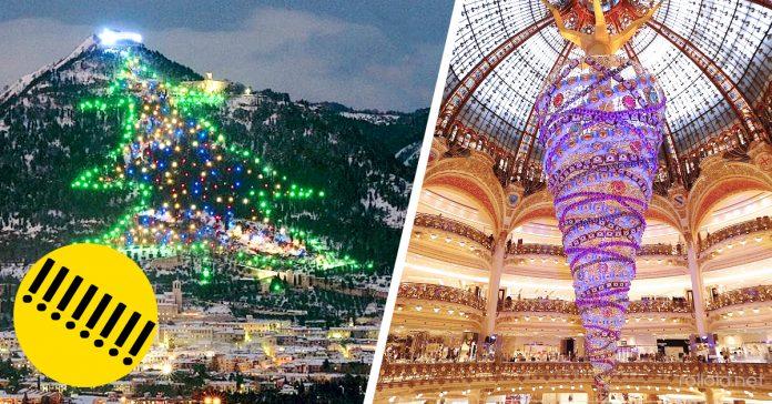 11 Espectaculares arboles navidad mundo banner