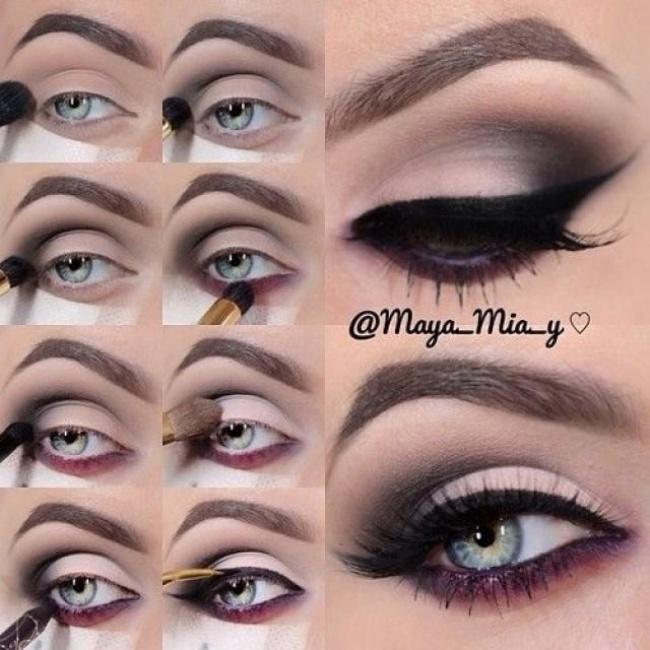 12 Ideas de maquillaje fiestas 07
