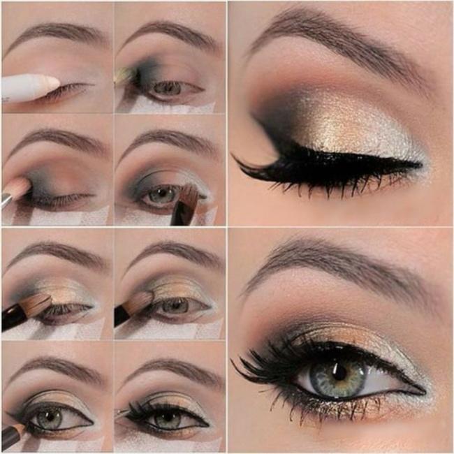 12 Ideas de maquillaje fiestas 12