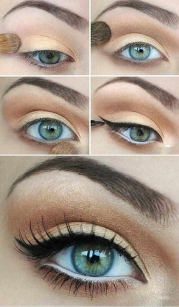 12 Ideas de maquillaje fiestas 14
