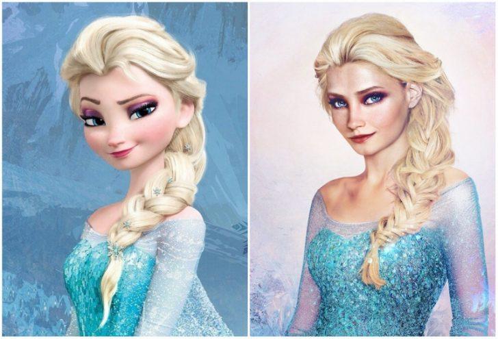 Como serian las princesas de Disney en la vida real 01
