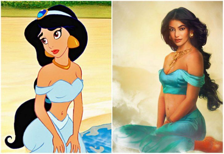 Como serian las princesas de Disney en la vida real 02
