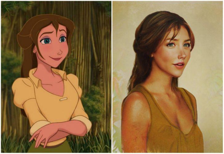 Como serian las princesas de Disney en la vida real 03