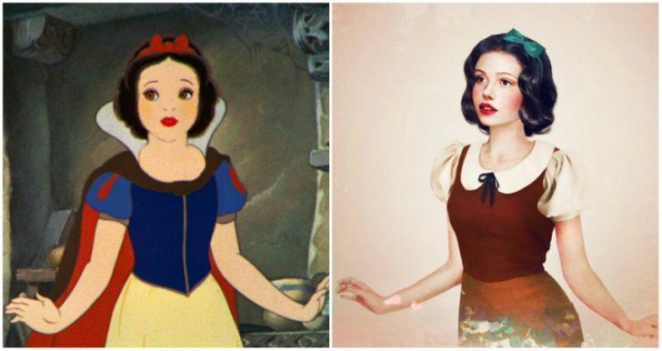 Como serian las princesas de Disney en la vida real 08