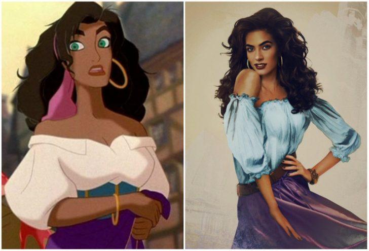 Como serian las princesas de Disney en la vida real 09