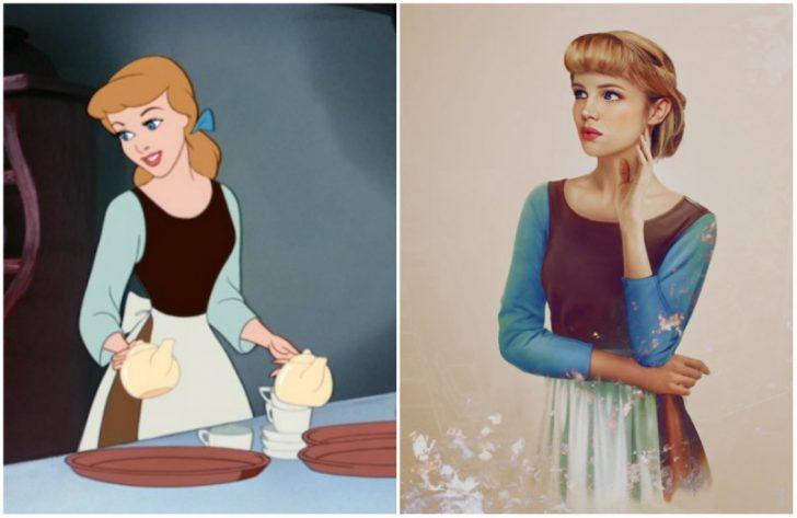 Como serian las princesas de Disney en la vida real 10