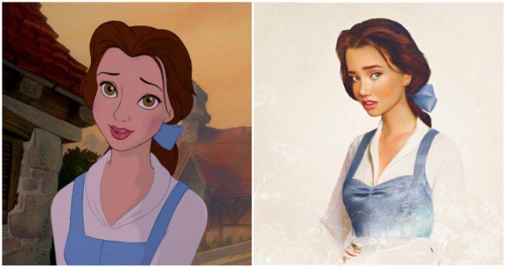 Como serian las princesas de Disney en la vida real 12