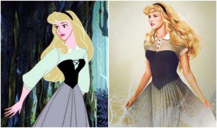 Como serian las princesas de Disney en la vida real 13